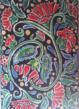 Traditional pattern, 2010, 70x50 cm, oil on canvas.